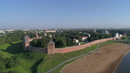 temple bell : Veliky Novgorod, Russia, 4k Stock Footage