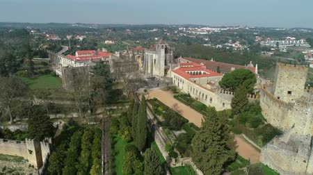 kolostor : Convent of Christ in Tomar, Portugal, 4k