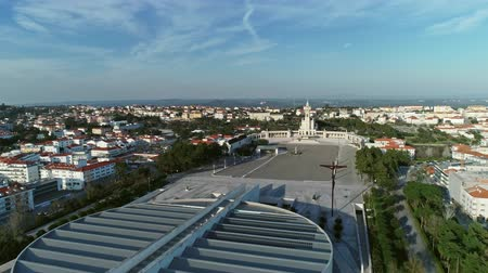 hacı : The Catholic Church of the Catholic Church in Portugal, 4k Stok Video