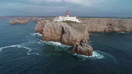 sao : Aerial view of Lighthouse of Cabo Sao Vicente