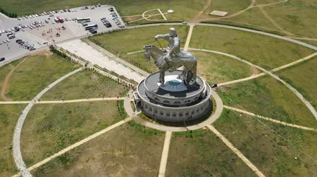 imperador : Statue of Genghis Khan in Mongolia