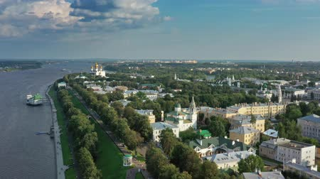assumption : Aerial view of Yaroslavl city center in Russia