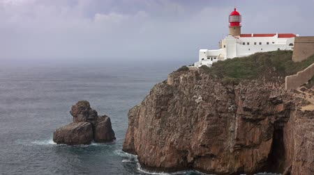 sao : Landscape with lighthouse of Cabo Sao Vicente