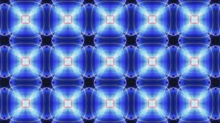 Kaleidoscopic movement and pattern Stock Footage