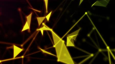 estruturas : Light abstract and particles background Stock Footage