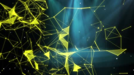 Light abstract and particles Stock Footage