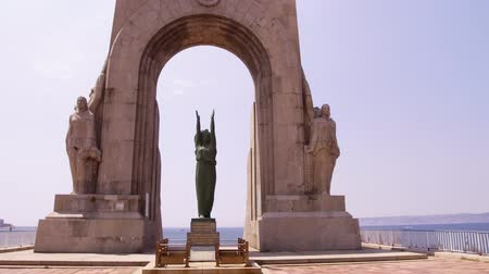 triumphal arch : France, Marseille, East Gate monument