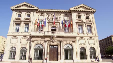 Town hall of Marseille city in France