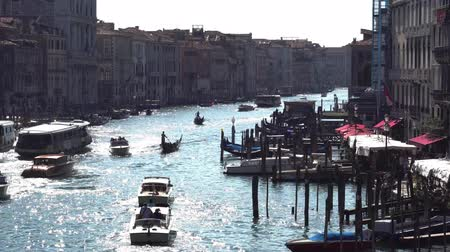 grande : Europe. Italy. Venice. Panoramic view of the Grand canal from the bridge on a Sunny summer day