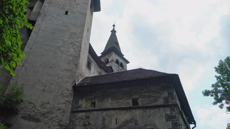 oravsky : view of the entrance to Orava castle. Slovakia