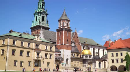 wawel : Poland Krakow June 2019. Church in Wawel castle in Krakow