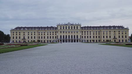 ウイーン : Austria September 2019. view of Schoenbrunn Palace in Vienna