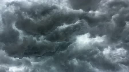 unlucky : Over head Shot of rain cloud, weather change Stock Footage