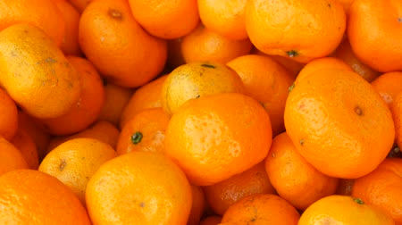 tangerina : Lot of orange mandarin as a background