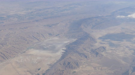 наивысший : Mountain desert landscape, top view from airplane