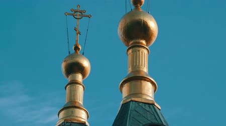 ortodoxia : Golden Dome of the Orthodox Church in Foros, Crimea