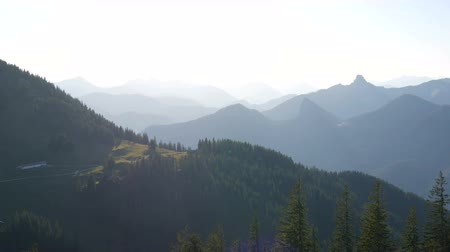 münchen : Spectacular view of Bavarian Alps in Germany