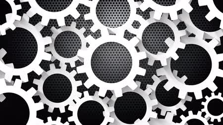 infinito : Rotating Gears Metal Background