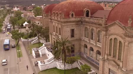 ecuador : Benigno Malo High School, Cuenca, Ecuador, Oct 20, 2017 - Historic Benigno Malo High School was built in 1869 and is still an active school