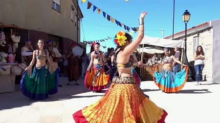 w : Penedono, Portugal - 20170701 - Medieval Fair  -  Belly Dance w - Sound