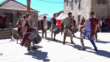 percussão : Penedono, Portugal - 20170701 - Medieval Fair  -  Drum Corp Change Beat w - Sound