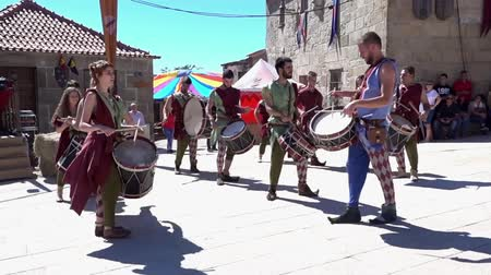 percussão : Penedono, Portugal - 20170701 - Medieval Fair  -  Drum Corp Fast w - Sound