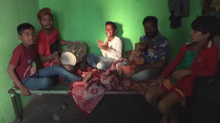 w : Kaputhli, India - 20180227 - Family Makes Music In Tiny One Room Home  -  w Sound