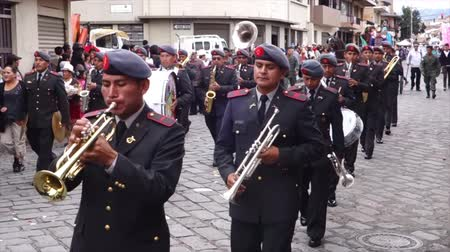 парад : Military Brass Band in Paseo de Nino Parade 2014