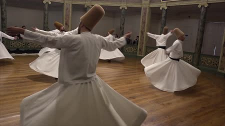 isztambul : Whirling Dervish Demonstration Dancers Fifth Act