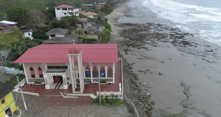 barışçı : La Entrada, Ecuador - 20180914 - Drone Aerial  -  High Orbit of Glass Fronted Church