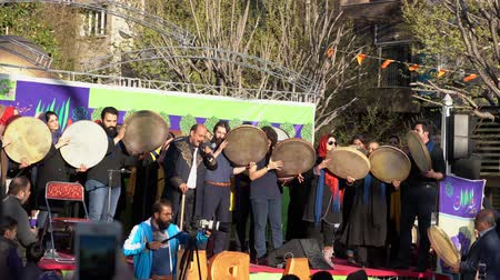 adil : Tehran, Iran - 2019-04-03 - Street Fair Entertainment 1 - Tamborines.