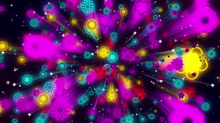 tahy : Flowers Loop Video- 3D Abstraction Animation