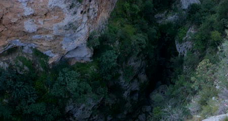 outstanding : Guver Canyon nature park near Antalya Turkey with outstanding view Stock Footage