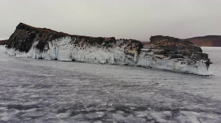 sincelo : Icy Cape on the island of Ogoy.