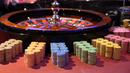 Casino Roulette And Chips