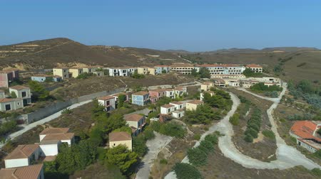 falido : Abandoned villas and hotel complex in Limnos, Greece