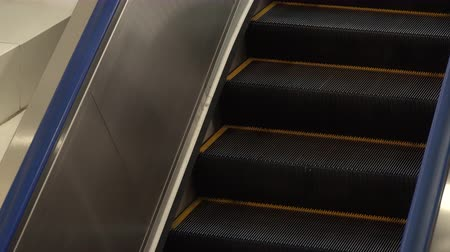 upward : The moving escalator in public transportation.