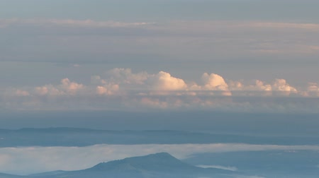 great video : Russia, time lapse. The formation and movement of clouds over the summer slopes of Adygea Bolshoy Thach and the Caucasus Mountains