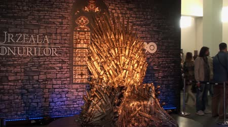 cômico : Bucharest, May The 10th, East European Comic Con, Game Of Thrones Throne Vídeos