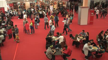 cômico : Bucharest, May The 10th, East European Comic Con, Board Game Room Aerial View