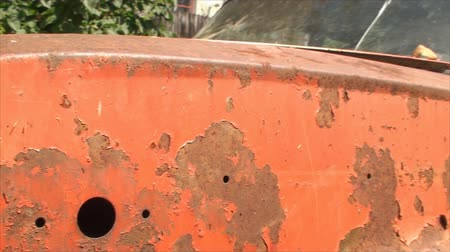 paslanmış : Detail Of Rusty Old Car, Orange, Decay, Aged, Vintage, Lada, Chrome, Pan