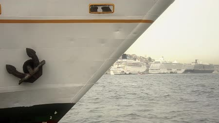 conventional : Prow of a Istanbul domestic ferry