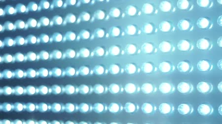 привело : LED panel blue lighting abstract Стоковые видеозаписи