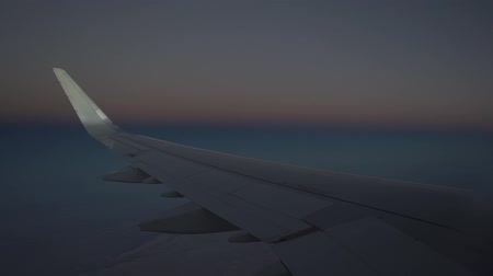 cümbüş : Flight at late sunset, aerial view