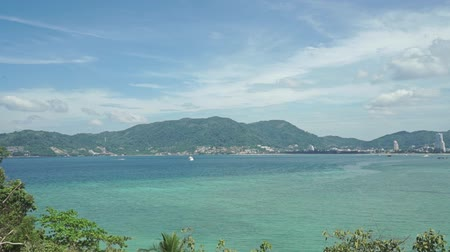 Пхукет : Phuket bay establishing shot