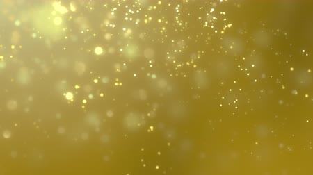 papel de parede : Blurred golden dust slowly falling against yellow background