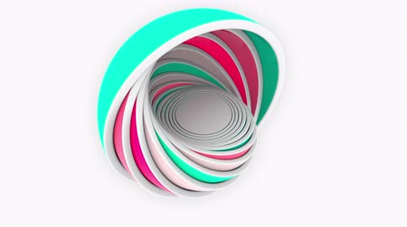 compatibility : Colorful hemispheres fit each other. Design, size or plastics related animation