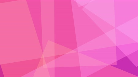 multiply : Pink and magenta abstract shapes. Loopable motion background