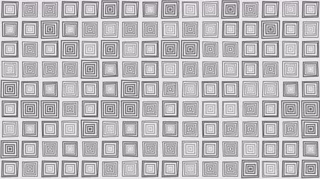 inner : Pulsating square boxes pattern, abstract loopable motion background Stock Footage