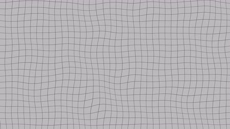 deformação : Liquid gray grid, loopable animation